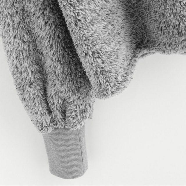 FURGAZI Minimalist Faux Fur Hoodie