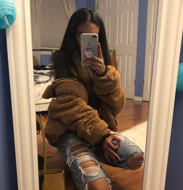 FURGAZI Faux Fur Teddy Coat