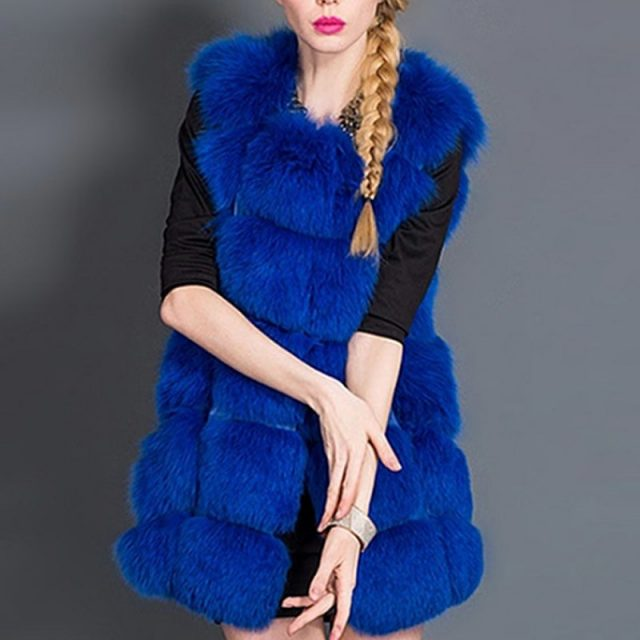 FURGAZI Warm Faux Fur Vest