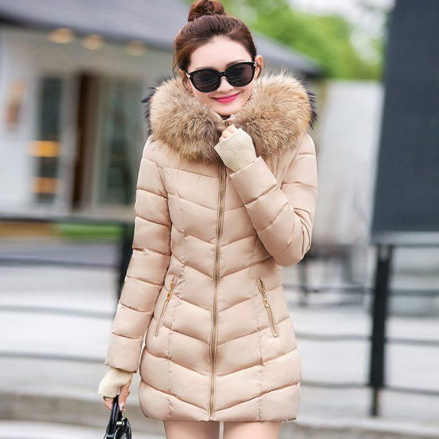 FURGAZI Gloved Faux Fur Parka